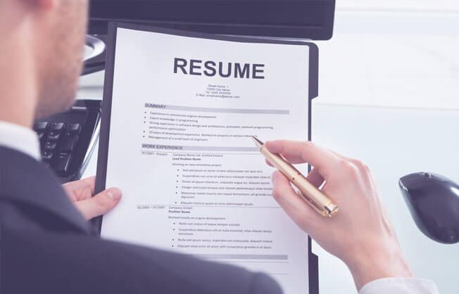 resume consultant
